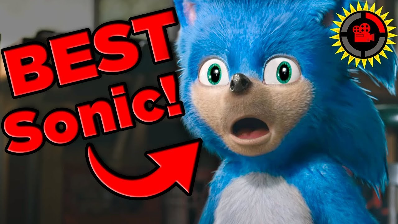 Film Theory Movie Sonic Is Best Sonic Sonic The Hedgehog 2019 Viral Legends